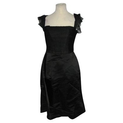Vera Wang Little black dress, silk, new