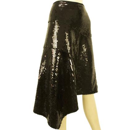 DKNY DKNY Black Pailletten rok Sz L