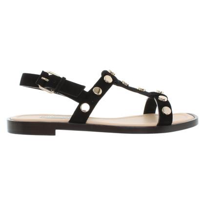 Balenciaga Sandals in black