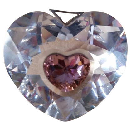 Swarovski pendant in heart shape