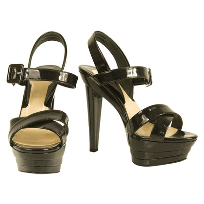 Christian Louboutin sandales plate-forme