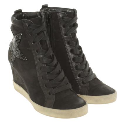 Kennel & Schmenger Platform Sneaker in zwart