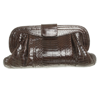 Other Designer Angel Jackson - clutch snakeskin