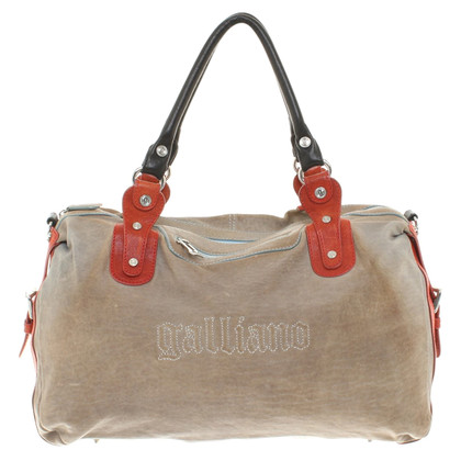 John Galliano Leather handbag