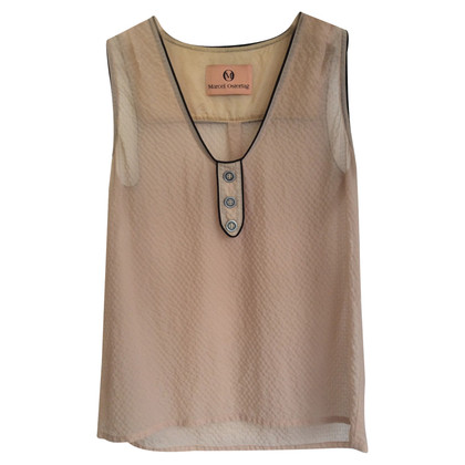 Marcel Ostertag Top in Crema