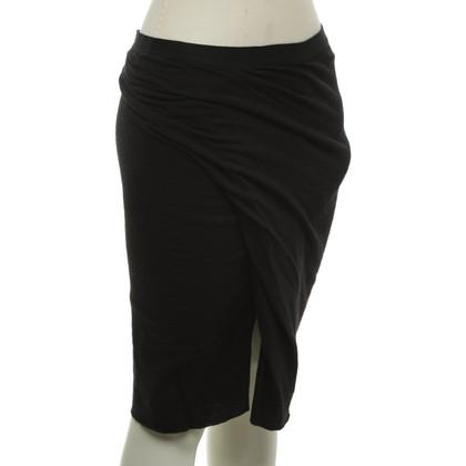 Rick Owens skirt in black