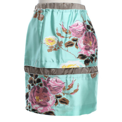 Marni skirt with floral pattern