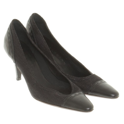 René Lezard pumps in nero