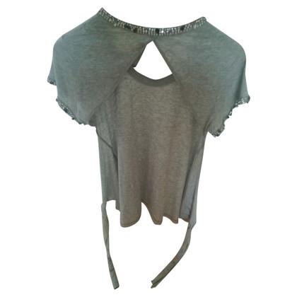 Twin-Set Simona Barbieri Shirt met edelsteen trim