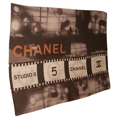 Chanel Cashmere cloth with print