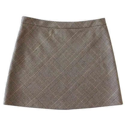 DKNY Printed mini skirt