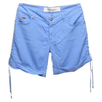 Blumarine Pantaloncini in blu chiaro