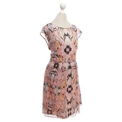 J. Crew Silk dress with pattern
