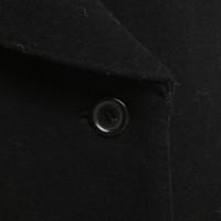 Louis Vuitton Mantel in Schwarz