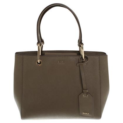 dkny handtasche in khaki second hand dkny handtasche in khaki gebraucht kaufen f r 130 00. Black Bedroom Furniture Sets. Home Design Ideas