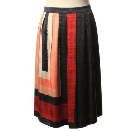 Max Mara Silk skirt pattern