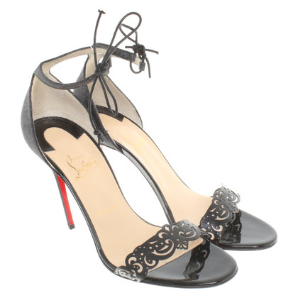Christian Louboutin Sandals with glittering surface