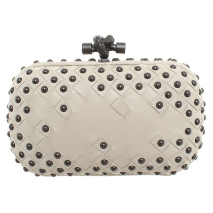 Bottega Veneta clutch in Beige