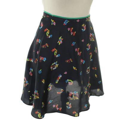 Tara Jarmon skirt with floral print