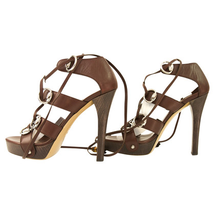 Gucci plateau sandalen