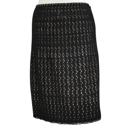 Alaïa skirt with crochet lace