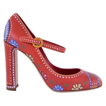Dolce & Gabbana Printed Mary Janes VALLY