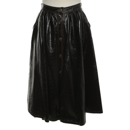 Miu Miu Circle skirt in black