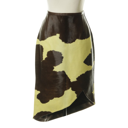 Rena Lange Cow hide leather skirt