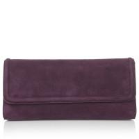 Hugo Boss Purple clutch