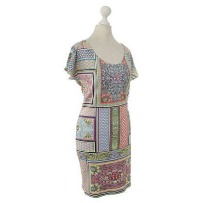 Just Cavalli Multi-colored dress with pattern mix