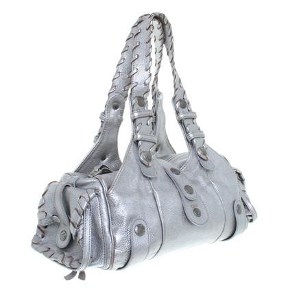 Chloé Tasche in Silber