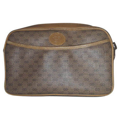 Gucci Vintage clutch with logo pattern