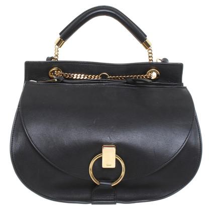 "Chloé ""Goldie Shoulder Bag"" in Schwarz"