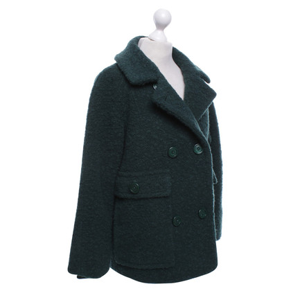 Ganni Coat in green