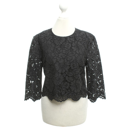 Ted Baker Lace top in black