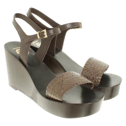 Maliparmi Sandaletten mit Keilabsatz