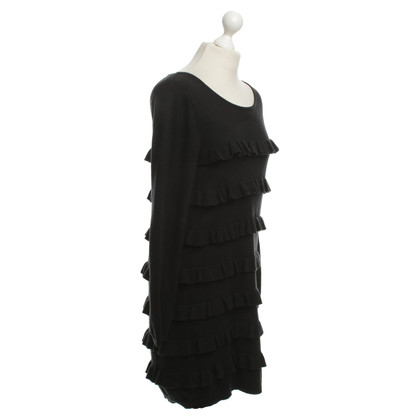Sandro Knitted Dress in Black