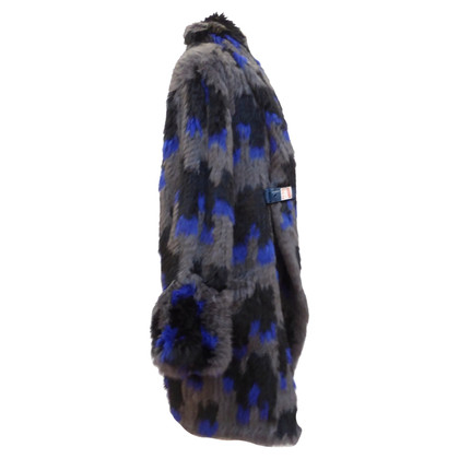 Antik Batik Colorfully colored rabbit coat