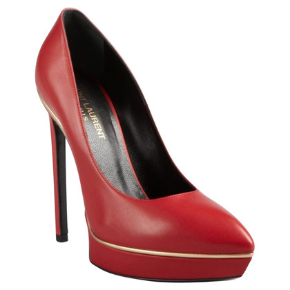 Saint Laurent pumps rosso