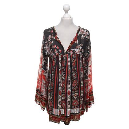 Isabel Marant Etoile Tunic blouse with pattern