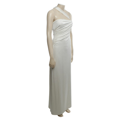Halston Heritage Maxi dress in cream white