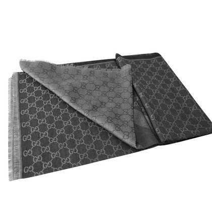 Gucci Guccissima cloth in dark gray / grey