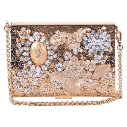 Dolce & Gabbana clutch met kristallen
