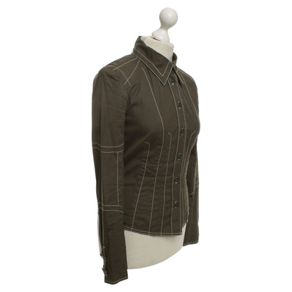 Marc Cain Jacket in olive green