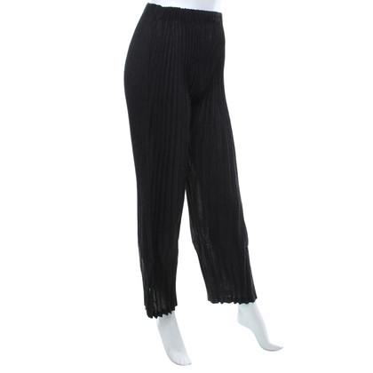 Issey Miyake trousers in dark gray