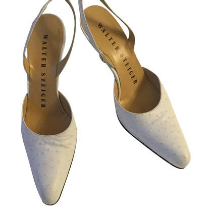 Walter Steiger pumps made of ostrich leather