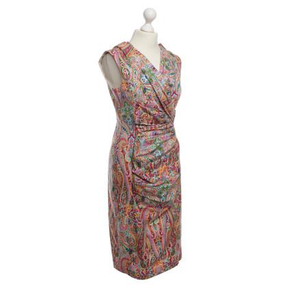 Talbot Runhof Gedessineerde jurk