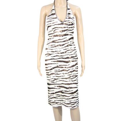 Karen Millen Sequined dress with pattern
