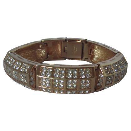 Christian Dior Vintage rhinestone bracelet.