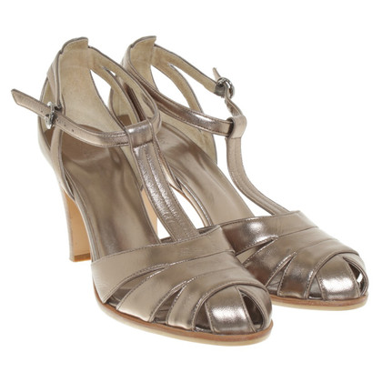 DKNY Sandals in metallic look